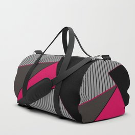 An abstract geometric pattern . Tango Duffle Bag
