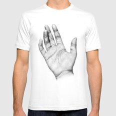 Touch Mens Fitted Tee White MEDIUM