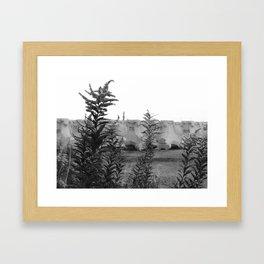 Forgoten place Framed Art Print