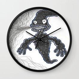 Smoke Ghost Wall Clock