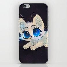 White Kitten iPhone & iPod Skin