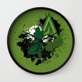 Splashing Arrow Wall Clock