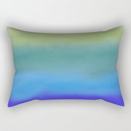 The Sea is Here Rectangular Pillow
