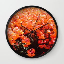 Sun Kissed  Wall Clock
