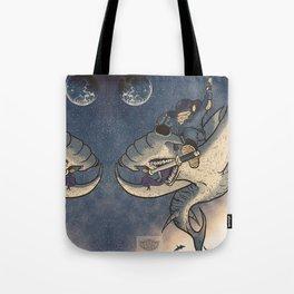 Space Cowboy Tote Bag