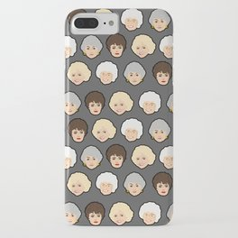 Golden Girls Grey Pop Art iPhone Case