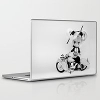 indian Laptop & iPad Skins featuring Indian by Marivi Troy