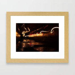 ∞. Framed Art Print