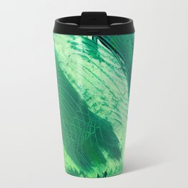 Green Smear Travel Mug