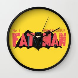 Adventures of the Fatman Wall Clock