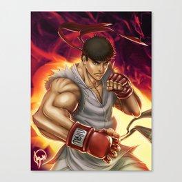 Ryu Street Fighter Canvas Print