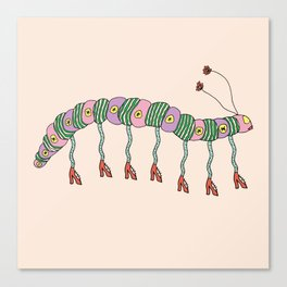 CATERPILLAR STRUT Canvas Print
