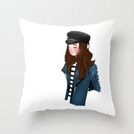 winter lover Throw Pillow