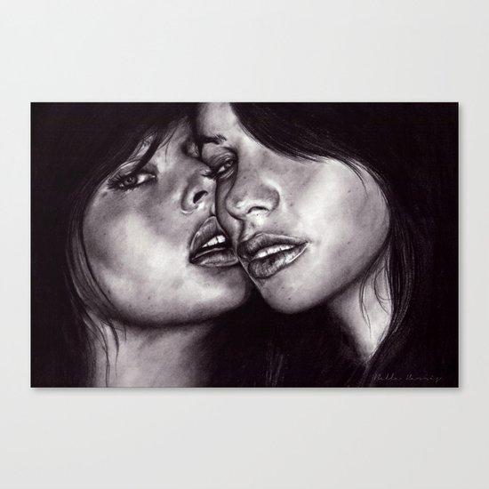 Friends (January)  Canvas Print
