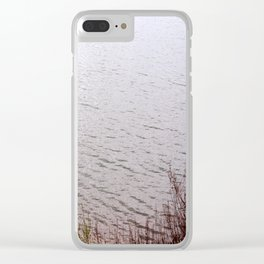 swimming in the infinity Clear iPhone Case