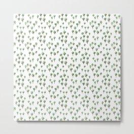 Gouache Forest 1 Metal Print