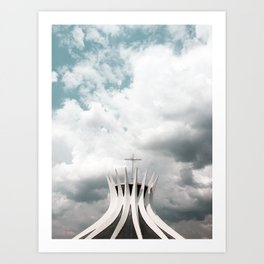 Cathedral | Brasília | Brazil Art Print