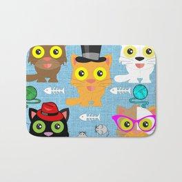 Cat's Meow Bath Mat