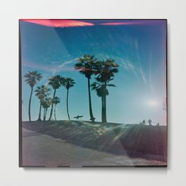 The solo surfer Metal Print