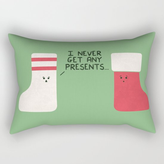 Socks To Be You Rectangular Pillow