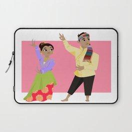 Philippines: Pangalay Dancers Laptop Sleeve