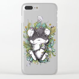 Waiting Here Clear iPhone Case