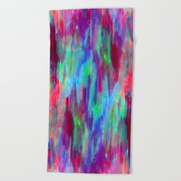 Moving Sunsets Beach Towel
