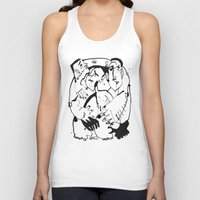 drunk Tank Tops featuring Drunk by 5wingerone