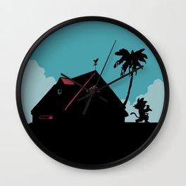 Kame House Wall Clock