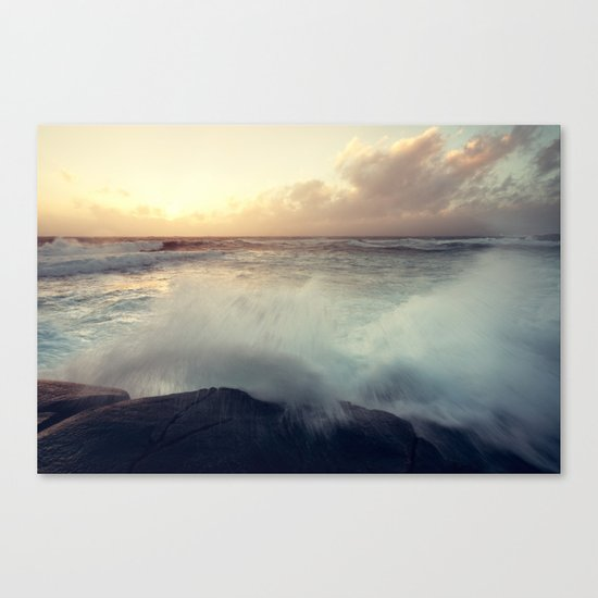 Welling Up Canvas Print