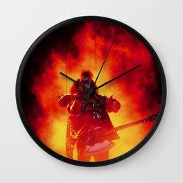The Demon Rises Wall Clock