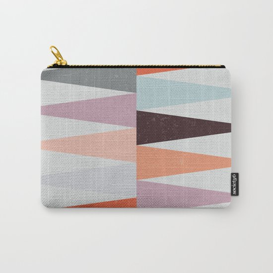 Colorful Peaks Carry-All Pouch