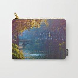 Duesseldorf Koegraben, Koenigsallee im Herbst Carry-All Pouch