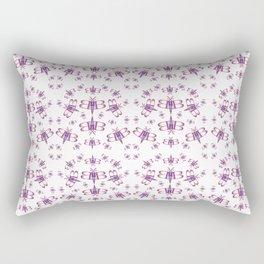Typographical bug Rectangular Pillow