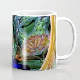 Digital Modification of a Photograph of Protea Leucospermum Coffee Mug