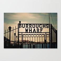 Burroughs Wharf Boston Canvas Print