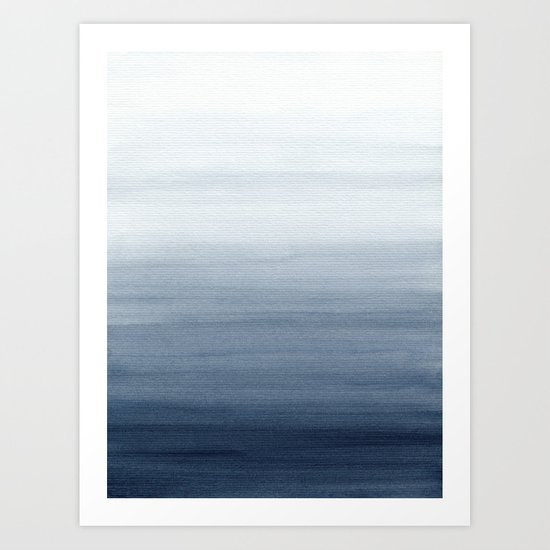 Ocean Watercolor Painting No.2 by ccartstudio