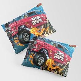 Hot Wheels Candy Striper 55 Gasser Poster Pillow Sham