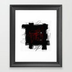 Random #2 Framed Art Print