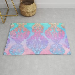 The Ups and Downs of Rainbow Doodles Rug