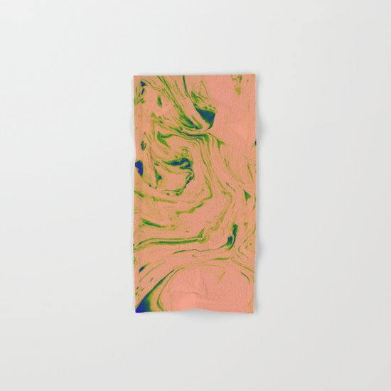 Marble Art V3 #society6 #decor #buyart Hand & Bath Towel