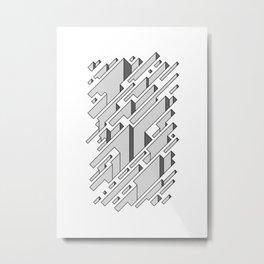 Crevices Metal Print