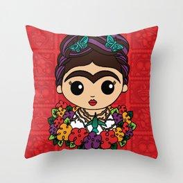 Humming Bird Frida Throw Pillow