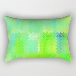 Re-Created  Flying Carpet XIV Rectangular Pillow