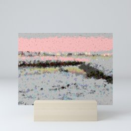 Lights of nature Mini Art Print