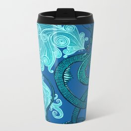 Ice Serpent Metal Travel Mug
