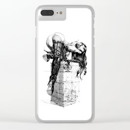 Over knees Clear iPhone Case