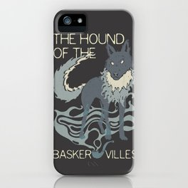 Books Collection: Sherlock Holmes iPhone Case