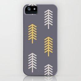 Yellow Tree iPhone Case