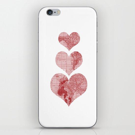 I Love, Love, Love, You iPhone Skin